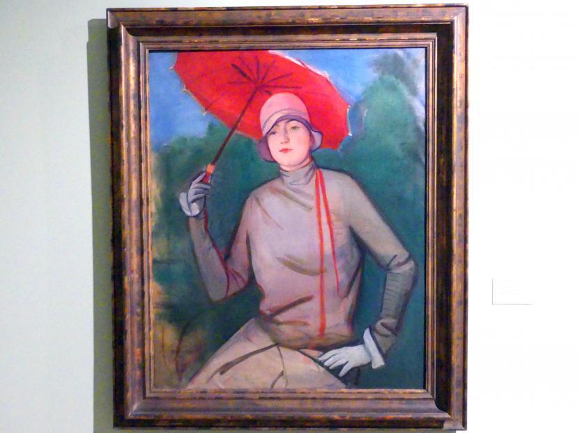 Rudolf Kremlička: Porträt der Mutter des Künstlers, 1928