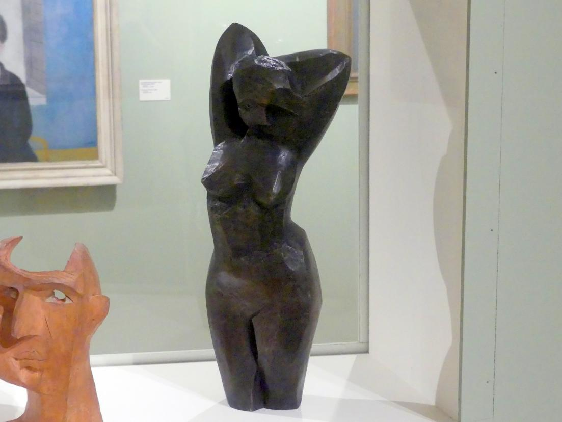 Bedřich Stefan: Mädchenakt mit Armen hinter dem Körper (Torso I), 1926 - 1927