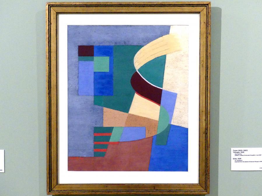 Toyen (Marie Čermínová): Rutsche, 1926