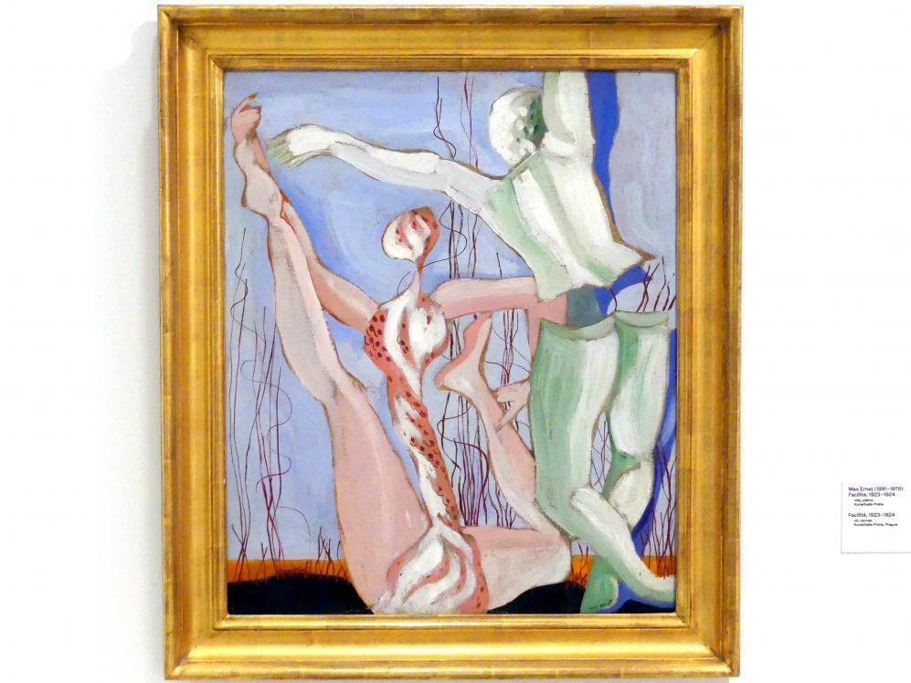 Max Ernst: Leichtigkeit, 1923 - 1924