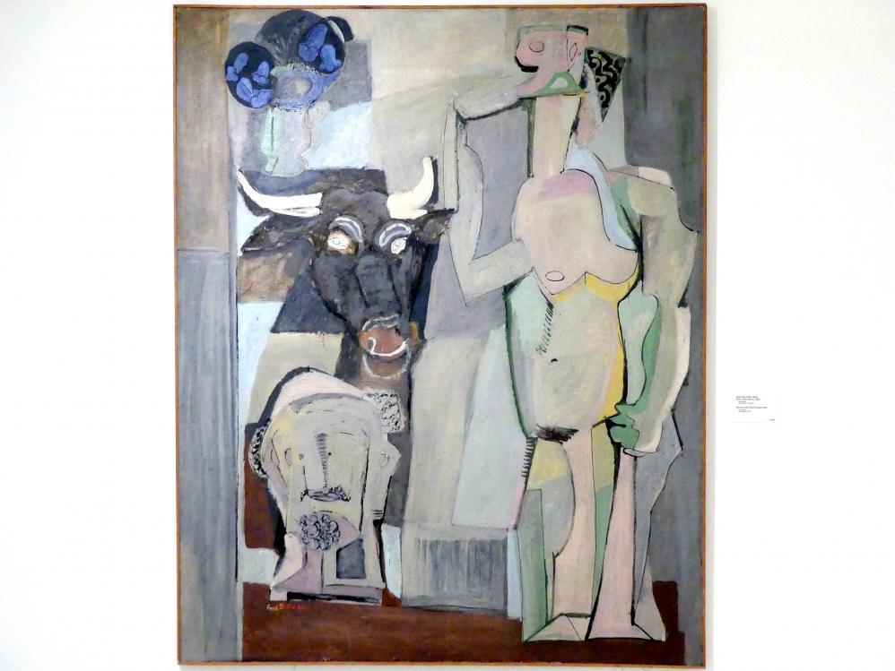 Emil Filla: Frau mit einem Stierkopf, 1930
