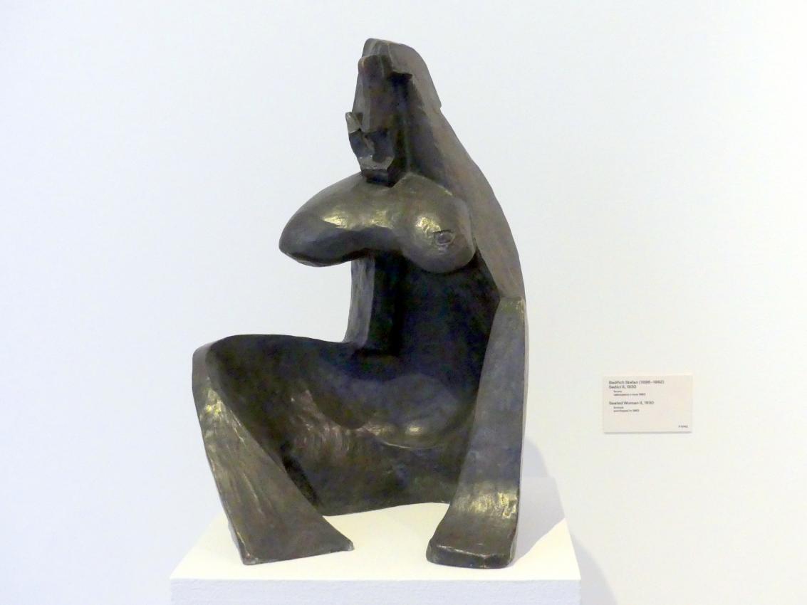 Bedřich Stefan: Sitzende Frau II, 1930