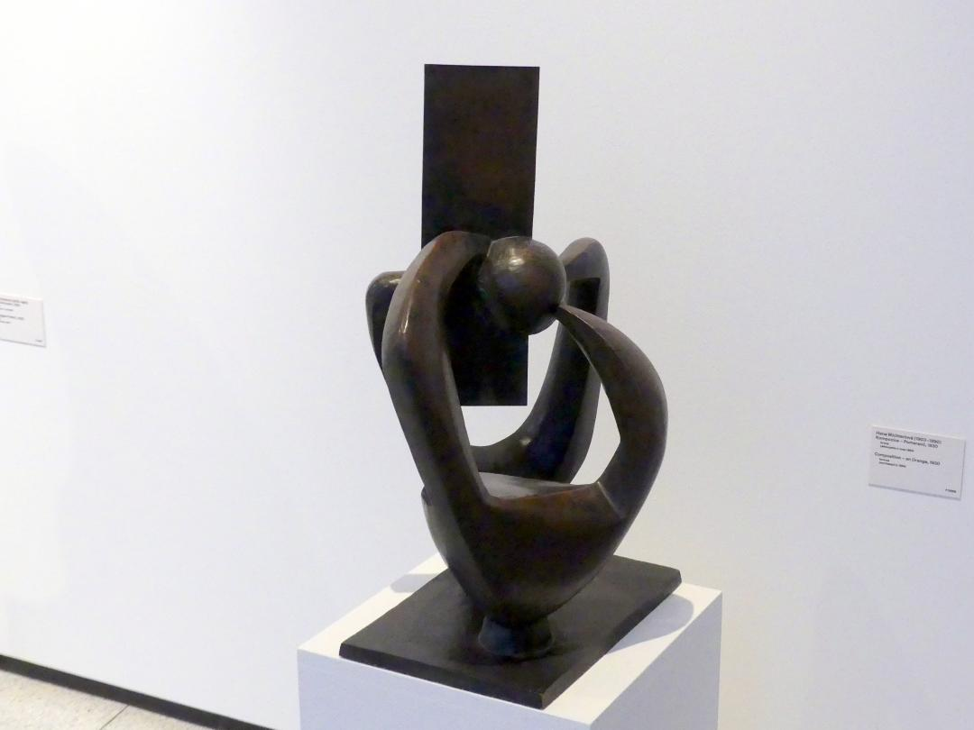Hana Wichterlová: Komposition - Orange, 1930