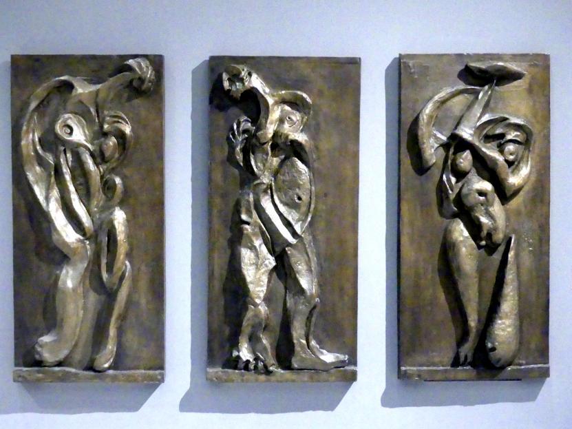 Emil Filla: Drei Frauen (Triptychon), 1934
