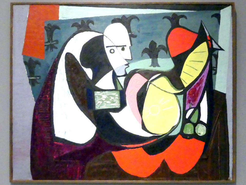 Emil Filla: Stillleben mit einem Kopf, 1934