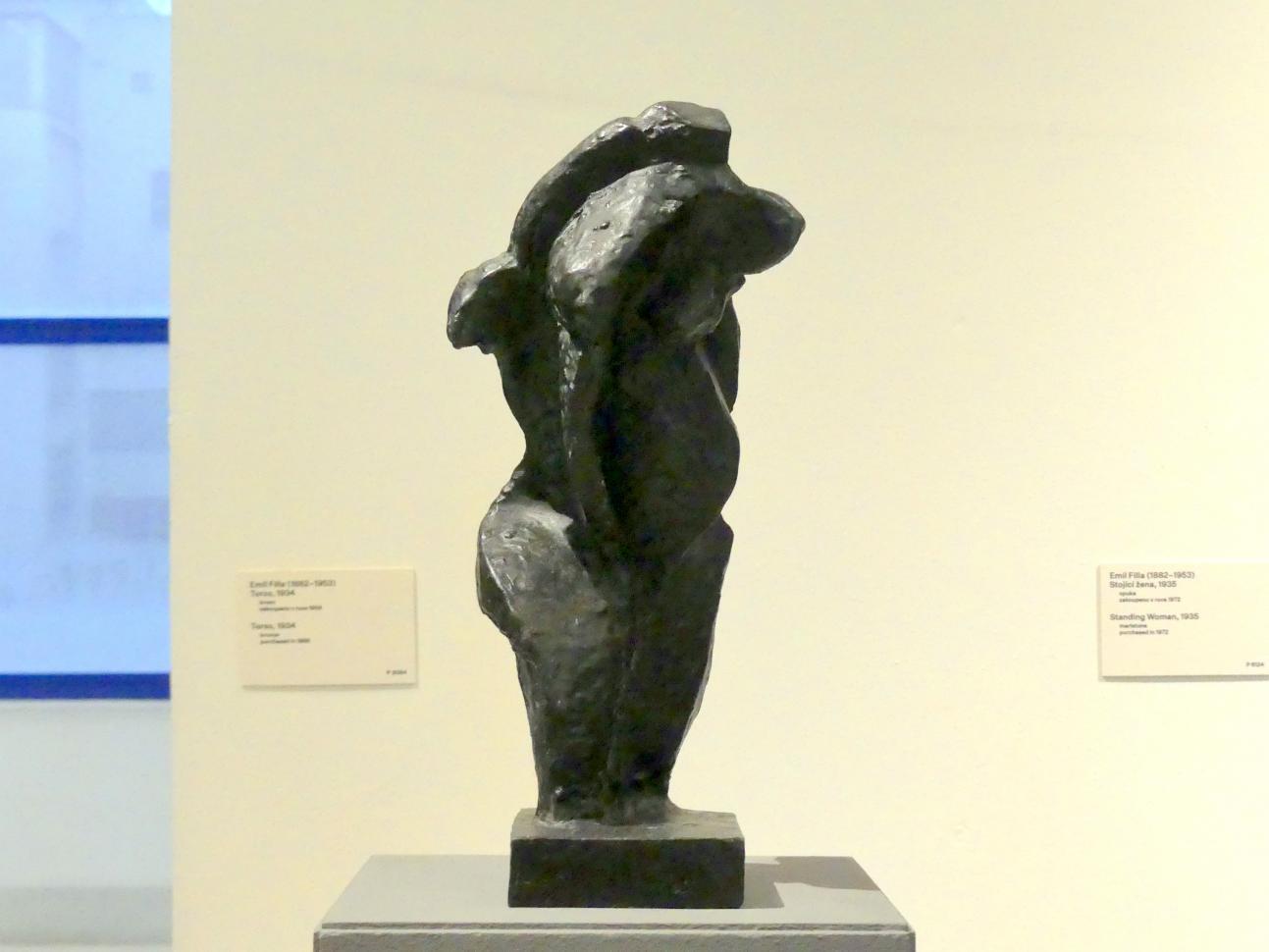 Emil Filla: Torso, 1934