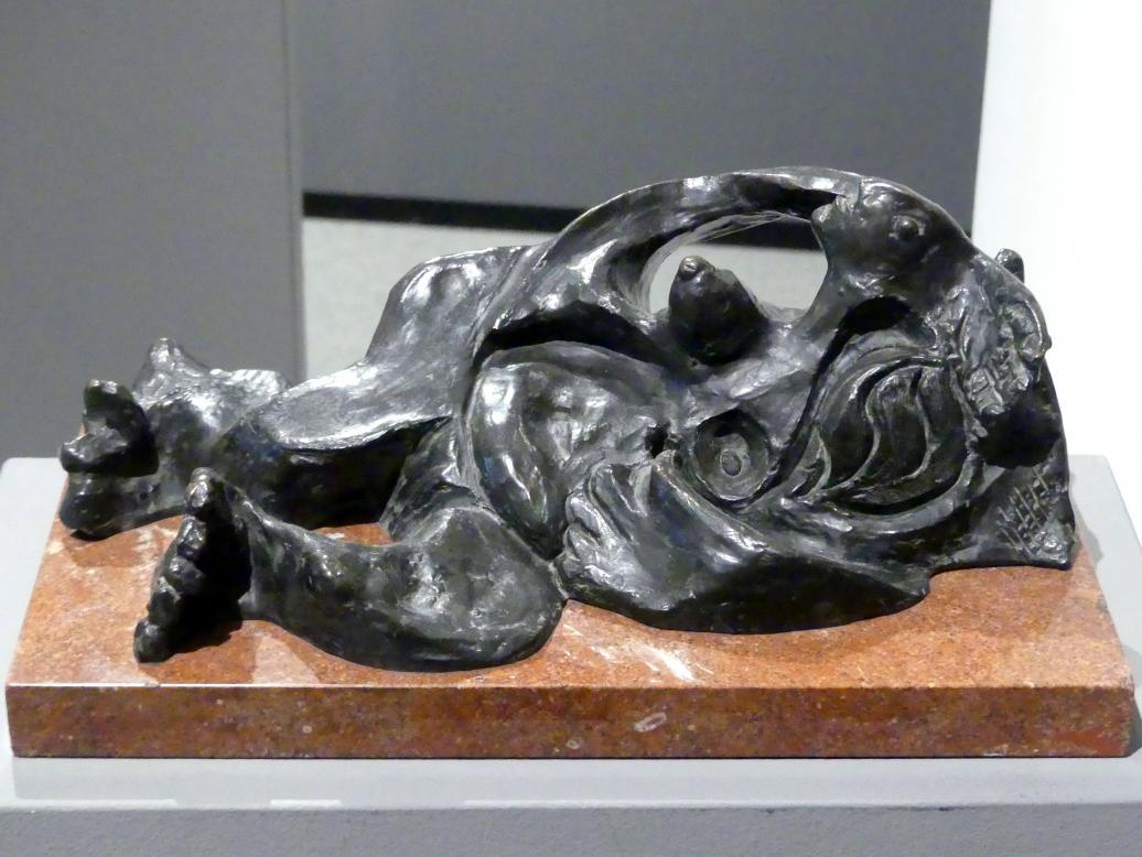 Emil Filla: Liegende Frau, 1934