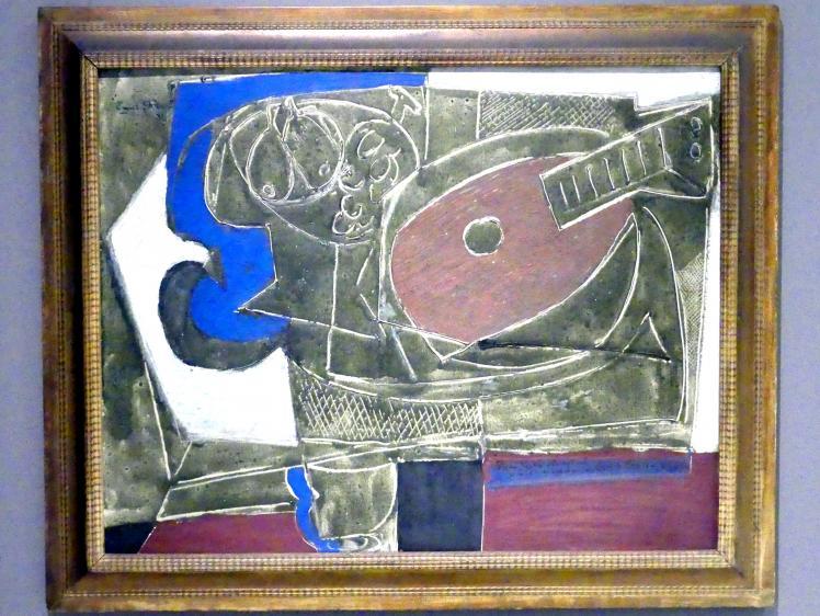 Emil Filla: Stillleben mit Mandoline, 1933