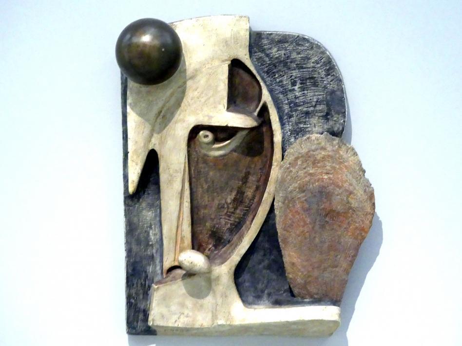 Ladislav Zívr: Kopf mit Muschel und Kugel, 1933