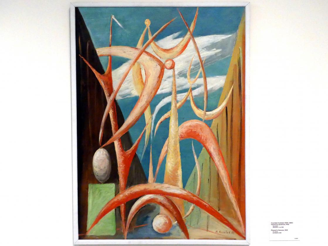 František Hudeček: Phaarao's Tänzerinnen, 1932