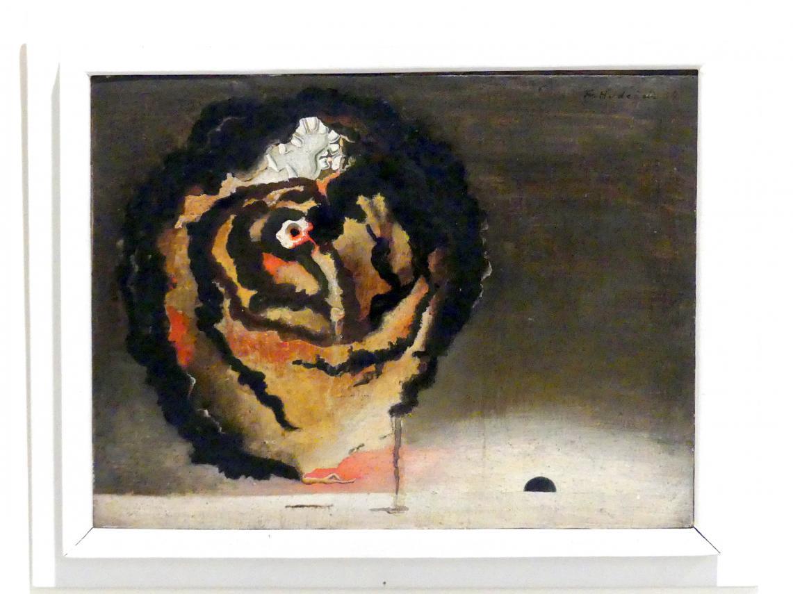 František Hudeček: Kopf eines Schlafenden, 1934