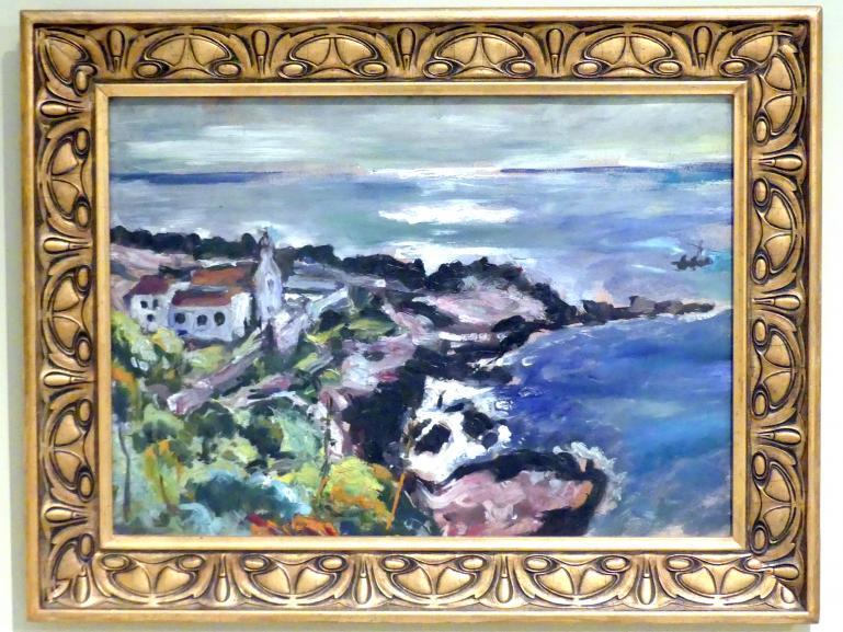 Friedrich Feigl: Meeresküste, 1908