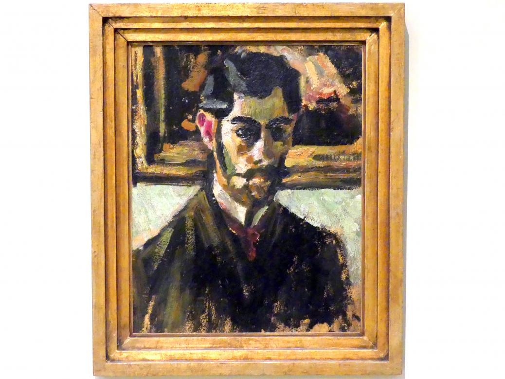 Friedrich Feigl: Selbstporträt, 1907
