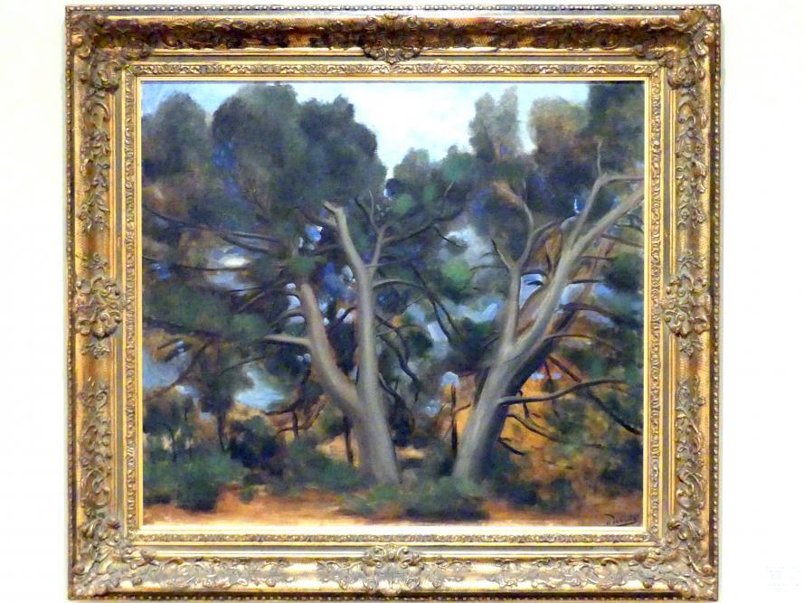 André Derain: Landschaft mit Bäumen, um 1925