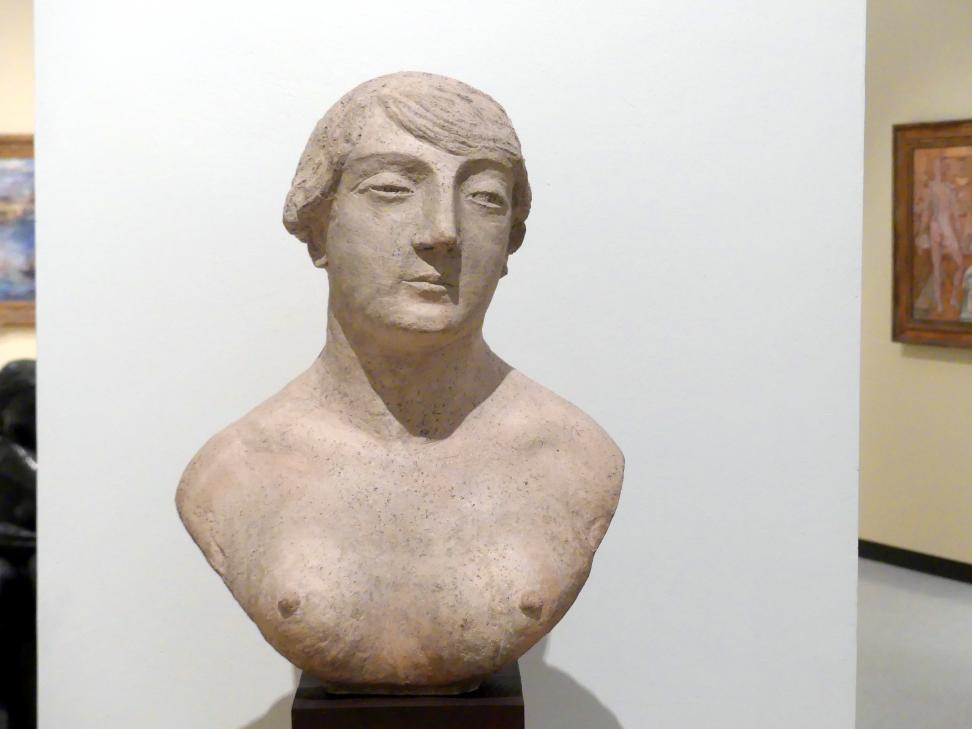 Otakar Kubín: Weibliche Büste, um 1925
