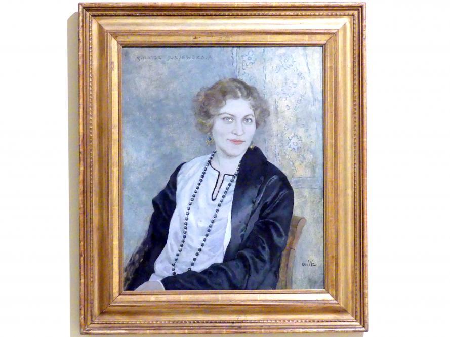 Emil Orlik: Porträt Zinaida Jurjewskaja, vor 1928