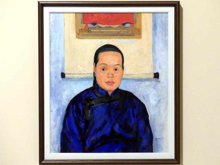 Emil Orlik: Bildnis einer Chinesin, 1912