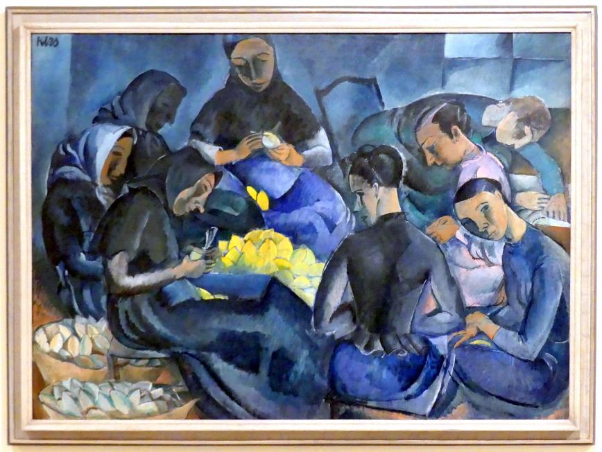 Georges Kars: Zitronen verpacken, 1912