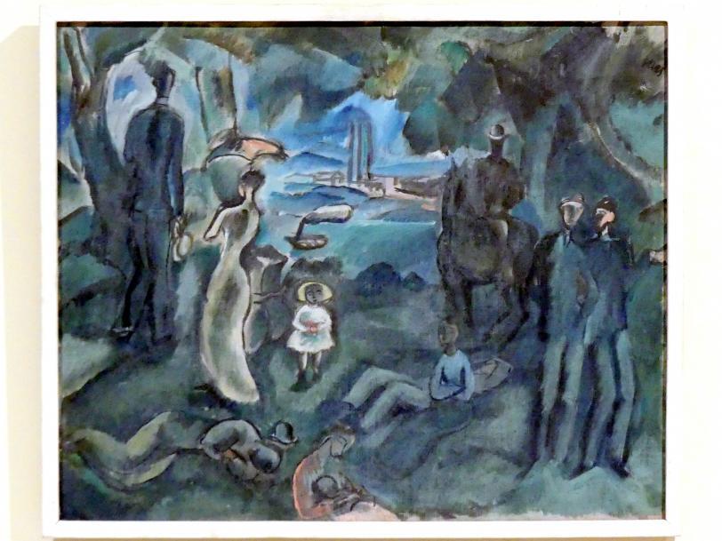 Georges Kars: Sonntag in der Peripherie der Stadt, um 1920