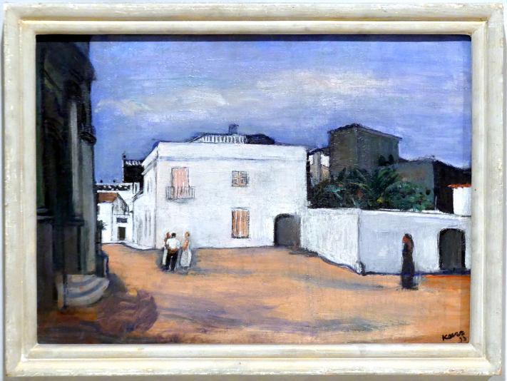 Georges Kars: Weißes Haus, um 1933