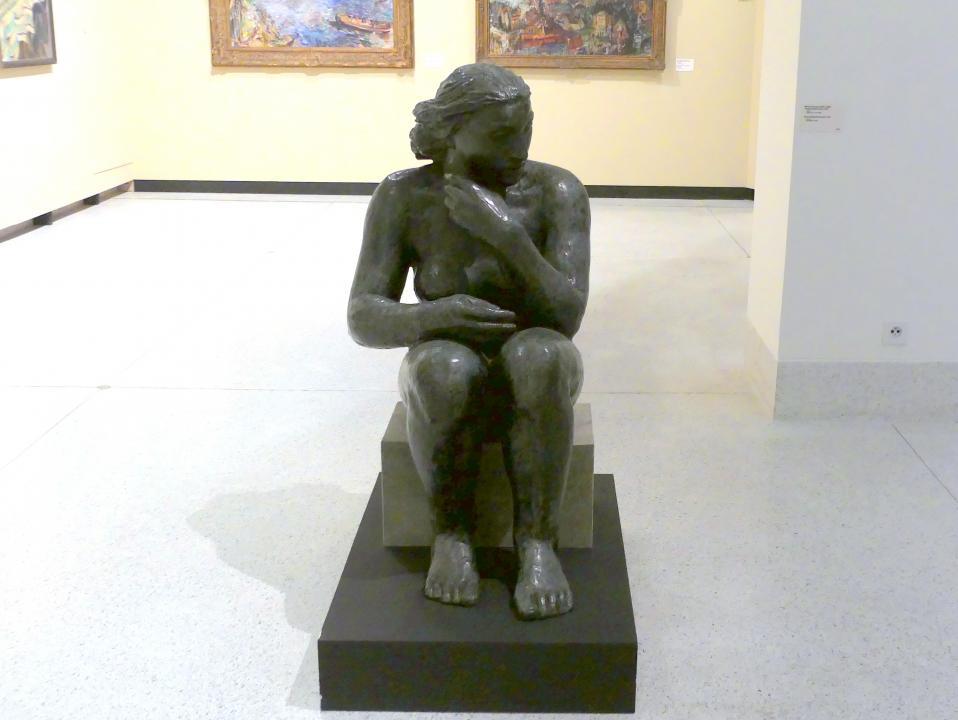 Mary Duras: Musik (Sitzende Frau), 1931