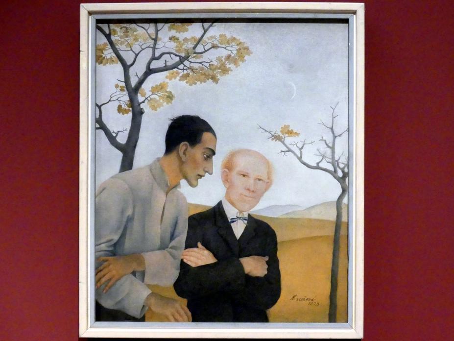 Milada Marešová: Doppelporträt, 1923