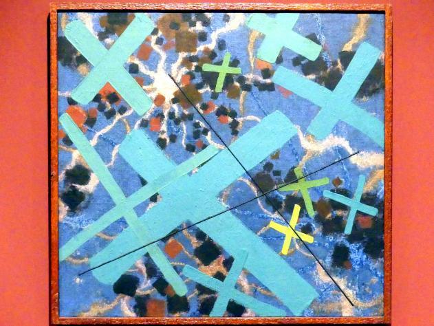 Vojtěch Preissig: Komposition mit Kreuzen, 1936