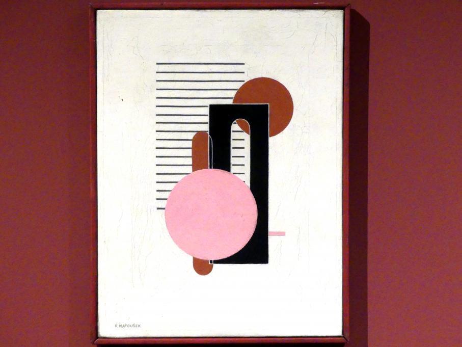 František Matoušek: Komposition II, um 1925 - 1930