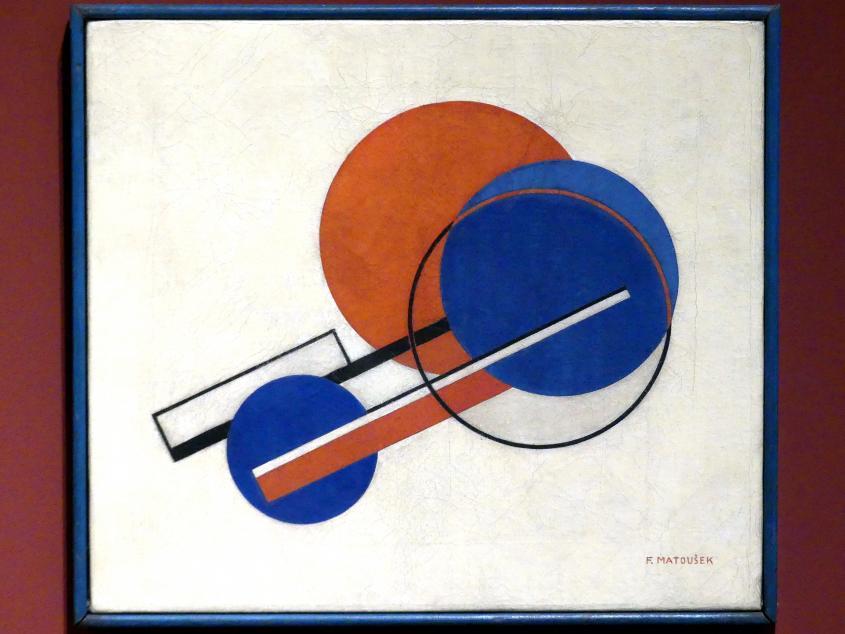 František Matoušek: Komposition I, um 1925 - 1930