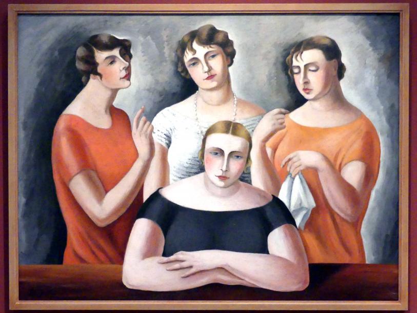 Božena Jelínková-Jirásková: Drei Schwestern, um 1930