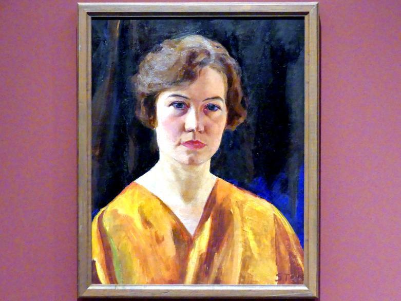 Sláva Tonderová-Zátková: Selbstporträt, 1924
