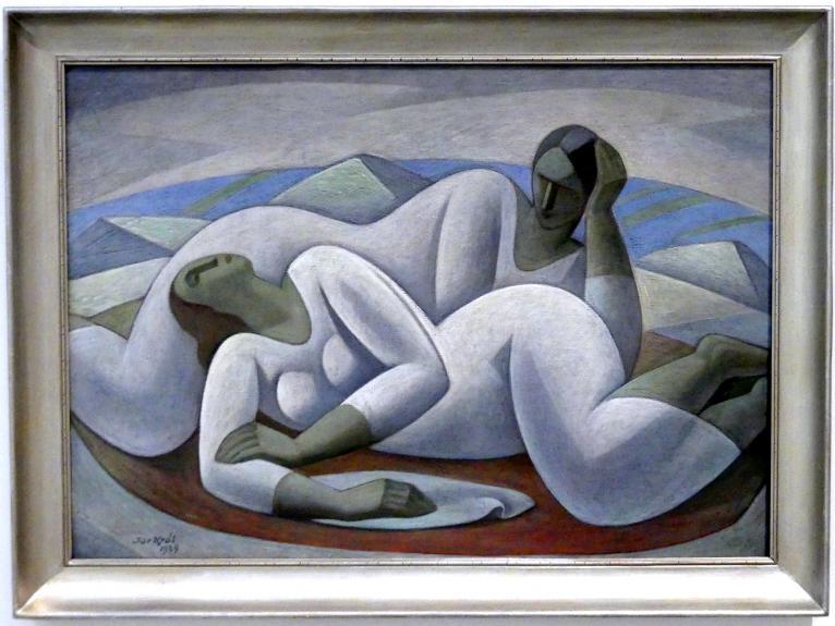 Jaroslav Král: Ruhende Frauen, 1929