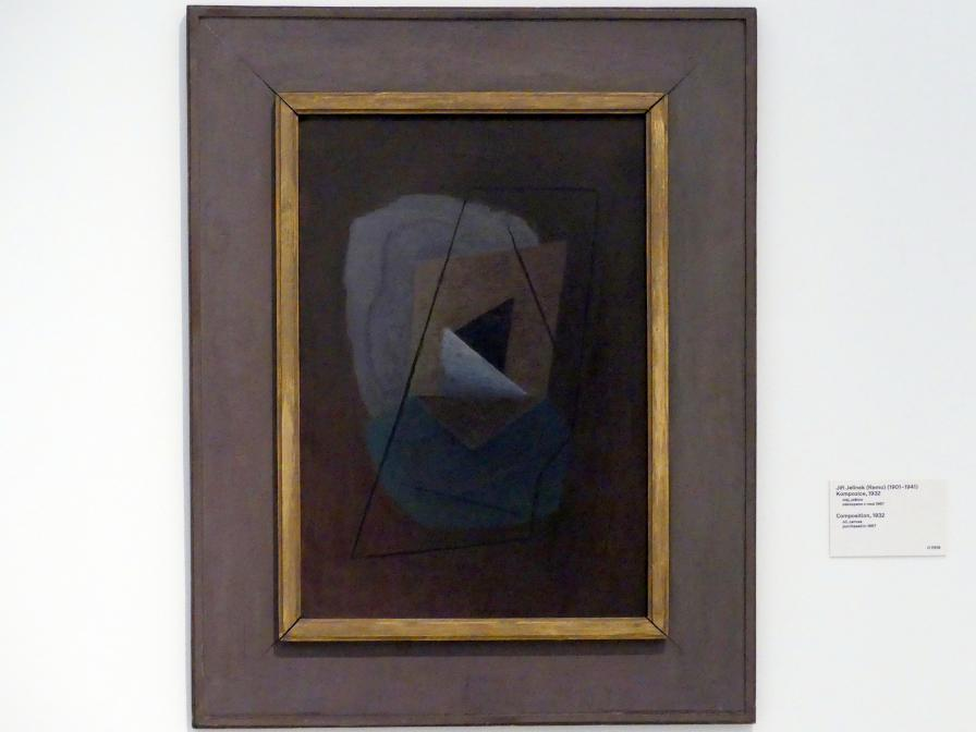 Jiří Jelínek (Remo): Komposition, 1932