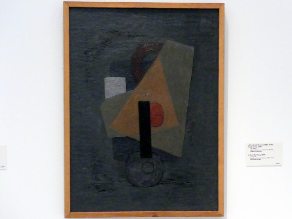 Jiří Jelínek (Remo): Graues Gemälde, 1930