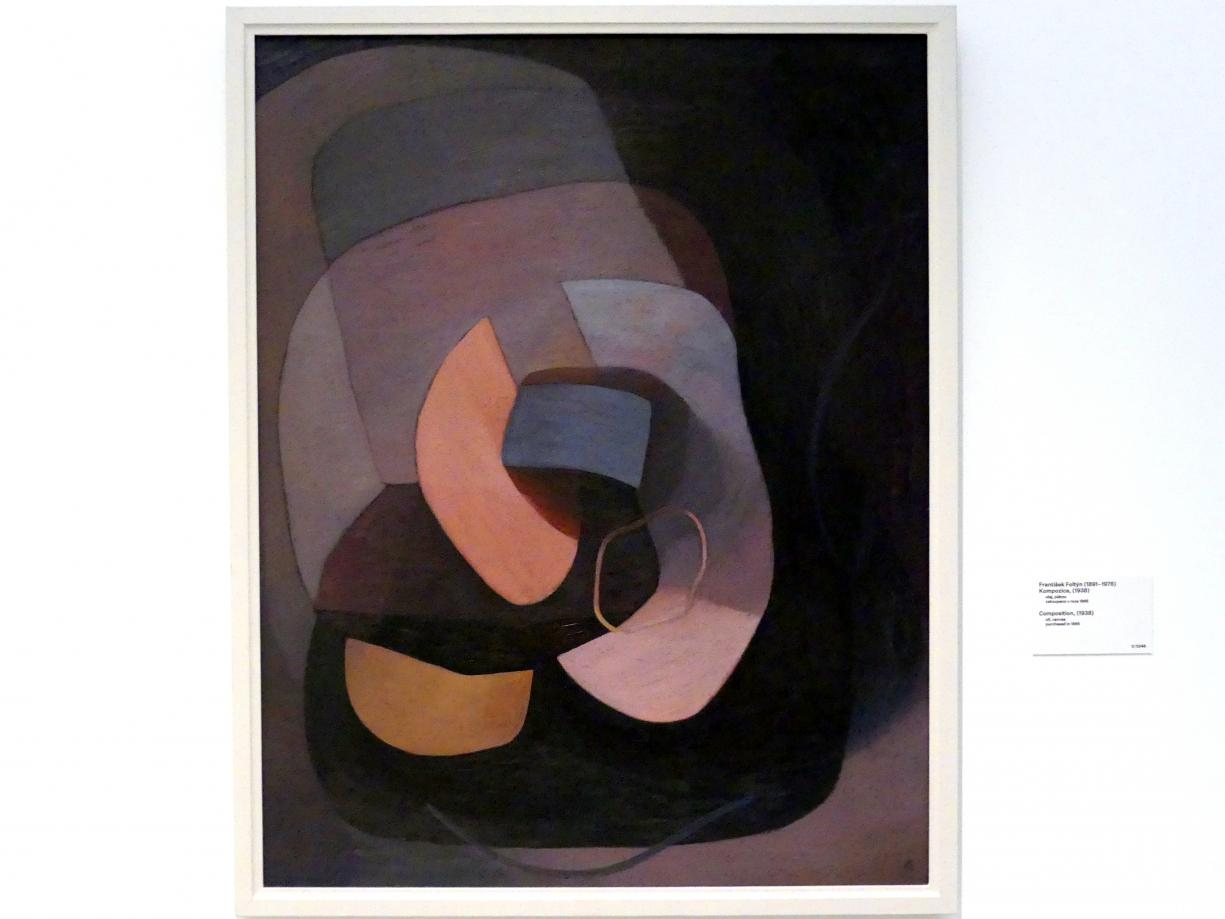 Frantisek Foltýn: Komposition, 1938