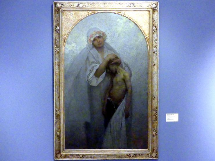 Alfons Mucha: Tschechisches Gemüt, 1917