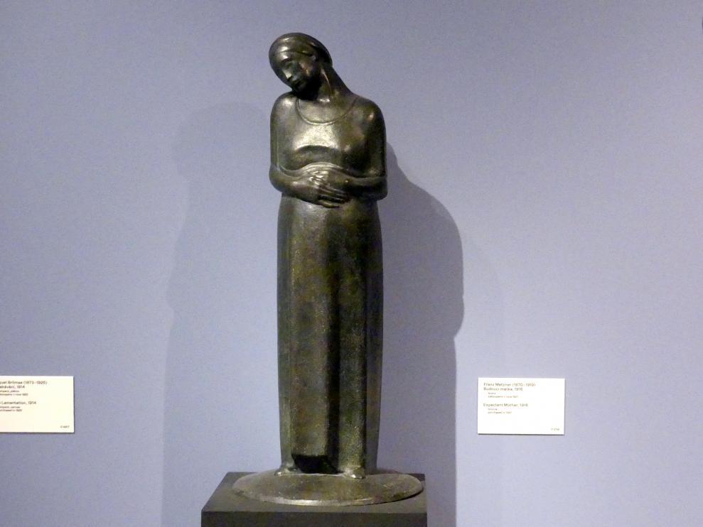 Franz Metzner: Werdende Mutter, 1916