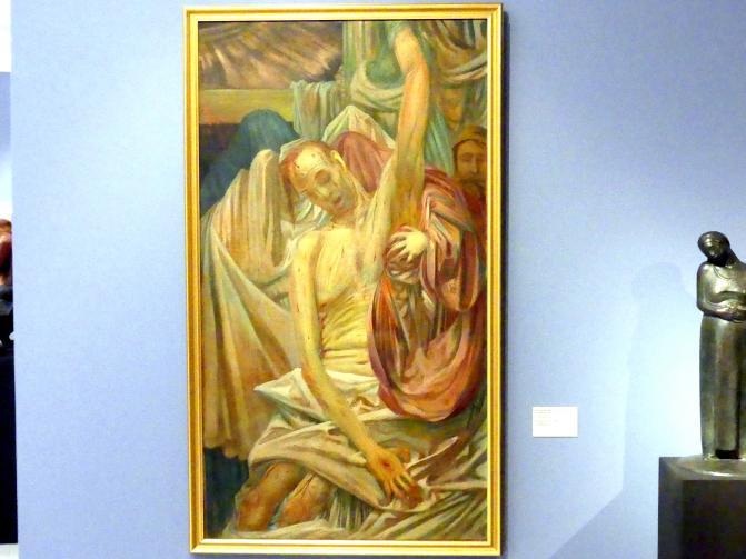 August Brömse: Beweinung Christi, 1914