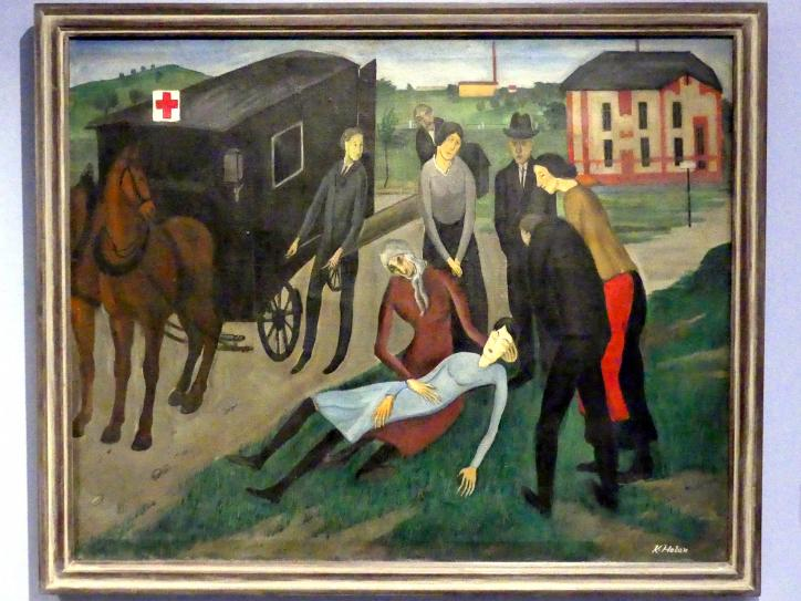Karel Holan: Krankenwagen, 1923