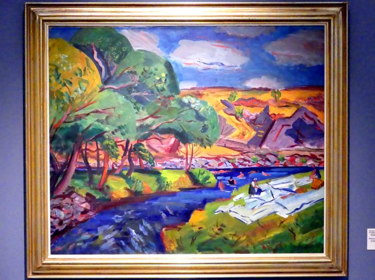 Vincenc Beneš: Hinter der Mühle bei Písek, 1928