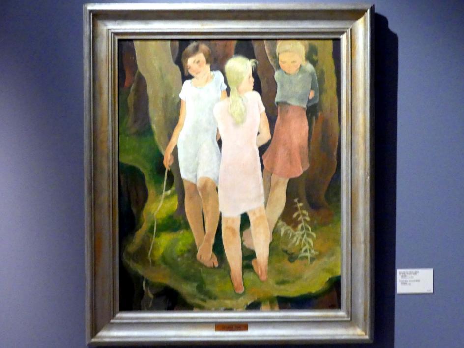Oswald Voh: Drei Mädchen, um 1928