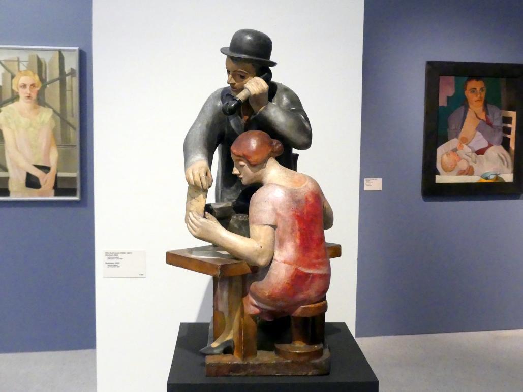 Otto Gutfreund: Geschäft, 1923