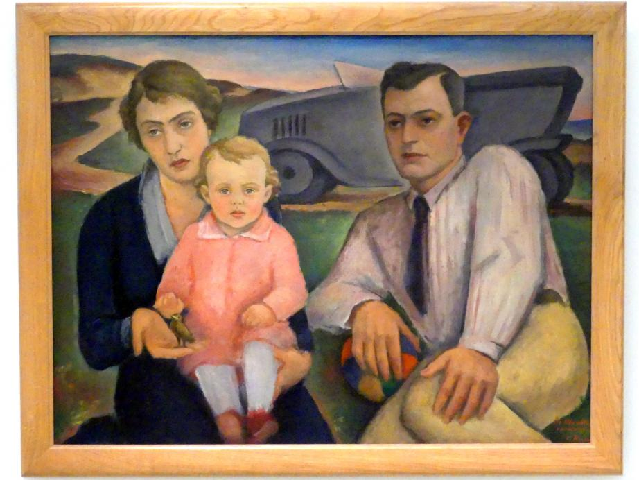 Václav Rabas: Familienausflug, 1922
