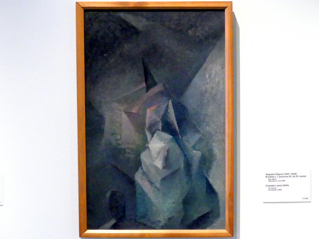 Augustin Ságner: Kristalle I, um 1930 - 1935