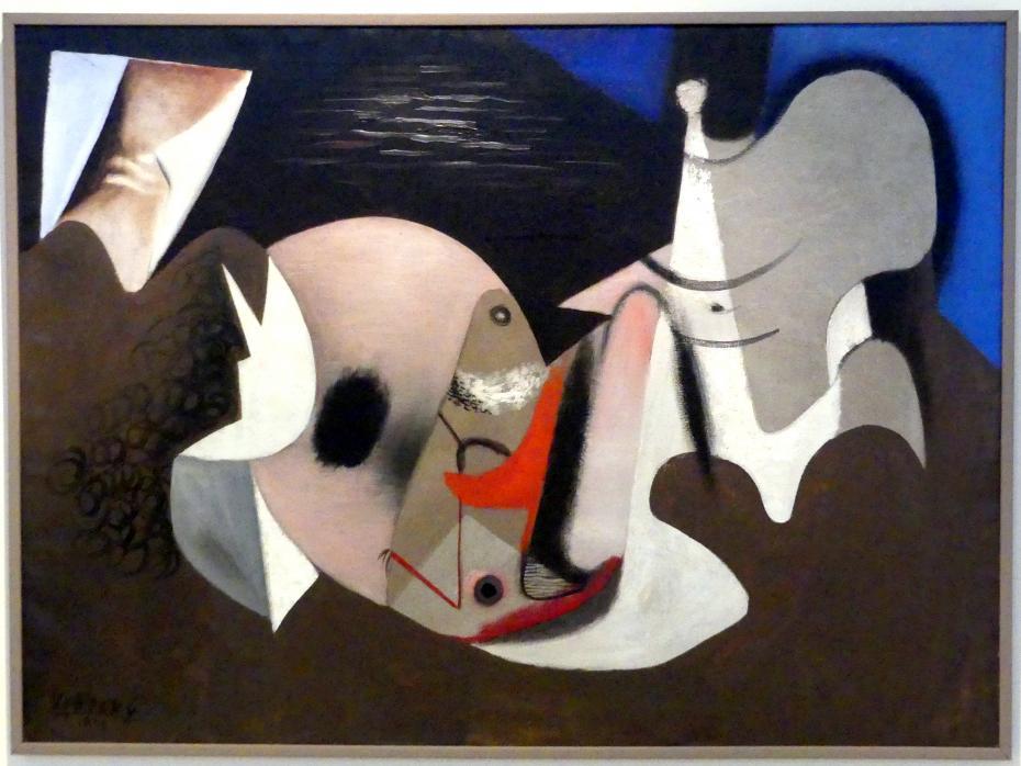 František Vobecký: Gemälde, 1932