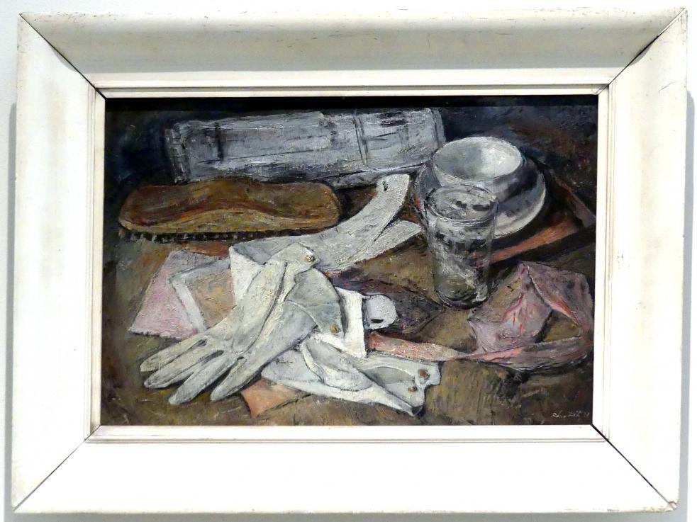 Leo Fitz: Stillleben mit Handschuhe, 1931