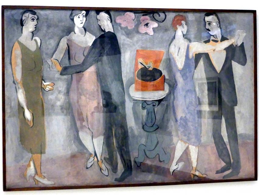 Josef Kaplický: Tanz, 1928