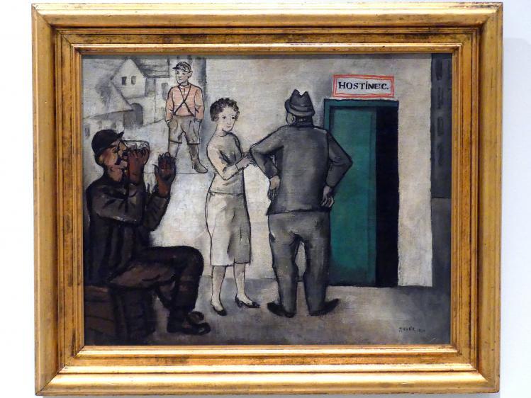Pravoslav Kotík: Kneipe, 1924