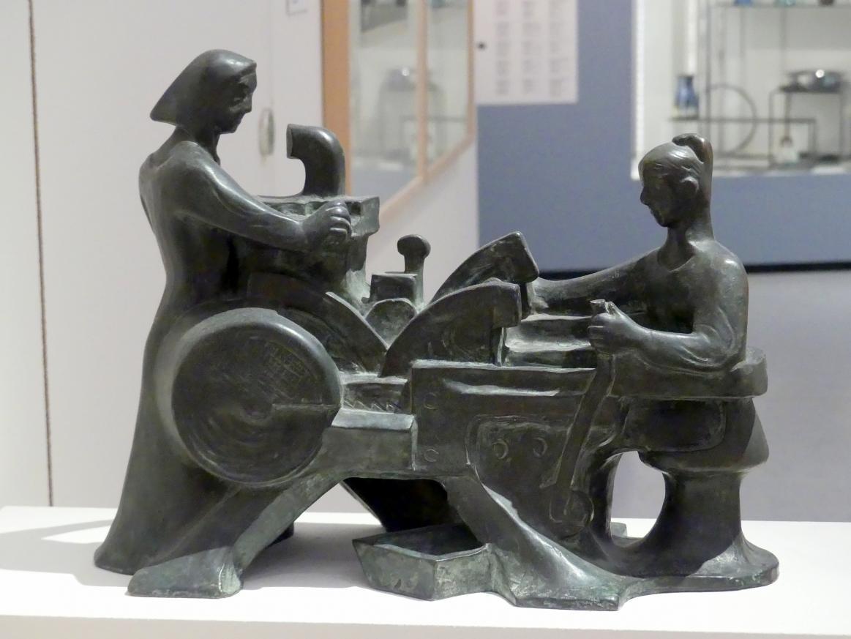 Karel Dvořák: An einer Tabakmaschine, 1927