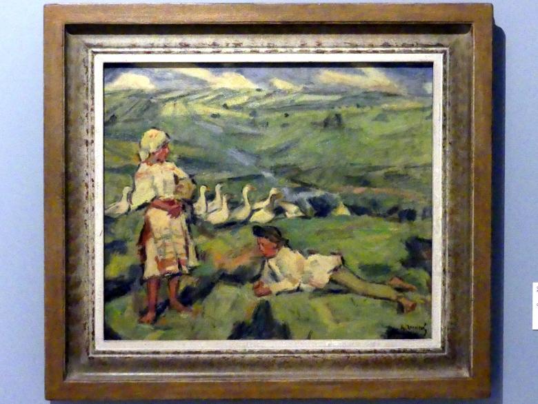 Gustáv Mallý: Auf der Wiese, 1935